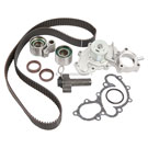 Timing Belt - Pulley - Water Pump and Seal Kit - 3.4L Engine with Oil Cooler Fitting