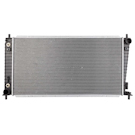 BuyAutoParts 19-01143AN Radiator 1