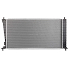 BuyAutoParts 19-01143AN Radiator 2