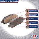 Brake Pad Set 70-00832 M1