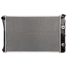 5.0L Engine - 26 3/8 x 17 inch Core - 3 Row Unit