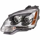 Left Headlight Assembly - without HID