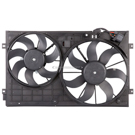 Dual Fan Assembly - 2.5L Models
