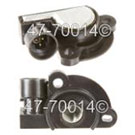 Pontiac Fiero Throttle Position Sensor