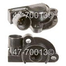 Pontiac Trans Sport Throttle Position Sensor