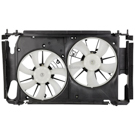 Dual Fan Assembly - 2.5L Japan Made Models with Air Conditioning