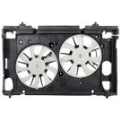 Lexus CT200h Cooling Fan Assembly