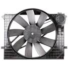 Mercedes_Benz CL500 Cooling Fan Assembly