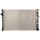 Lincoln Zephyr Radiator