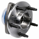 Rear Hub - Models with 5 stud hub