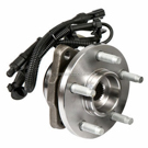 Front Hub - 4WD with 4 wheel ABS Without Pulse Vacuum Hub [OE YL5Z 1104B-A]