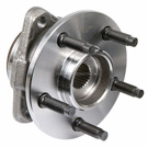 Front Hub - 2nd design [Exc. Pulse Vacuum Hub Locks] 4WD with 2 wheel ABS [Rear Wheel ABS]
