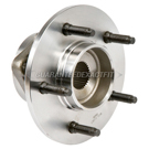 Front Hub - F150 4 Wheel Drive Models with 2 Wheel ABS