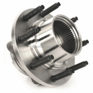 Front Hub - F250 Superduty 4WD Single Rear Wheel Models with 2 Wheel ABS