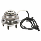 Front Hub - 4WD with 4 wheel ABS With Pulse Vacuum Hub [OE F87Z 1104A-B]