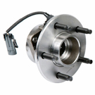 Front Hub - 2WD Models with ABS
