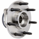 Front Hub - F250 4 Wheel Drive Models with 2 Wheel ABS