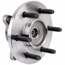 Front Hub- All Four Wheel Drive Models