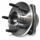 Front Hub - 4WD with 2 wheel ABS and Pulse Vacuum Hub Lock