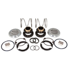 F-350 1 Ton - Yukon Hardcore Locking Hub Set - Dana 60 - 35 Spline - Front Differential
