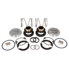 F-350 1 Ton - Yukon Hardcore Locking Hub Set - Dana 60 - 30 Spline - Front Differential
