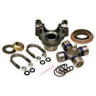 Yukon Replacement Trail Repair Kit - Dana 30 And 44 With 1350 Size U/Joint And Straps - Rear Differential