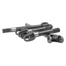 Scout II - USA Standard 4340 Chrome-Moly Replacement Axle Kit - Dana 44 With Super Joints - Front Differential