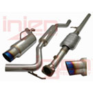2.0L - 2.4L - Naturally Aspirated - Injen Super SES - Titanium Tip Exhaust System - Cat Back System - Titanium Tip