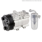 AC Compressor and Components Kits for Chevrolet Astro Van 1989 and GMC Safari 1989, 4.3L Engine with R4 Compressor, 4.3L with R4 Compressor