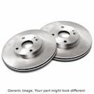 GLI - 1.8L - From 01/05 - To 11/05 - Vented Rear Disc - Front