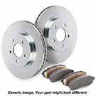 Brake Pad and Rotor Kit 71-91792 J1
