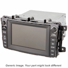 Navigation Assembly with Radio for EX Sedan with OEM 39540-SNA-A00ZB [ TAUPE GUN METALLIC ]