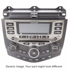 AM-FM-Single CD Radio with DVD Player [OEM 65839156237]
