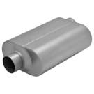 Super 40 Series 409S Muffler - Base - 5.4L