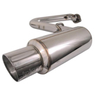 All Models - Injen Super SES - Stainless Exhaust System - Muffler to Tip System -