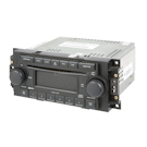 Radio and 6 Disc CD Player with Face Code RAQ [Non Chrome Knobs]