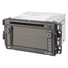 In-Dash Navigation Unit with Single CD-DVD-MP3 Radio without Voice Recognition [Option Code UVB]