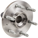 Front Hub - 1500 Models with 4 Wheel Drive and 6 Stud Hub