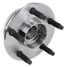 Rear Hub - Rear Drum Brake-Four Wheel ABS Models