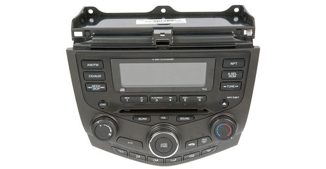 1994 2012 Honda Accord Radios Or Cd Players Buy Auto Partsrhbuyautoparts: Car Radio Honda Accord At Elf-jo.com