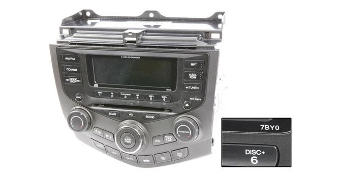 1994 2012 Honda Accord Radios Or Cd Players Buy Auto Partsrhbuyautoparts: Car Radios For Honda Accord 2003 At Gmaili.net