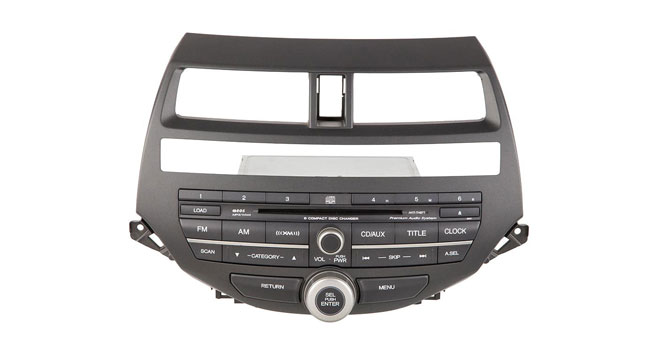 2008 to 2009 Honda Accord AM-FM-MP3 6 CD radio for 3.5L coupe models
