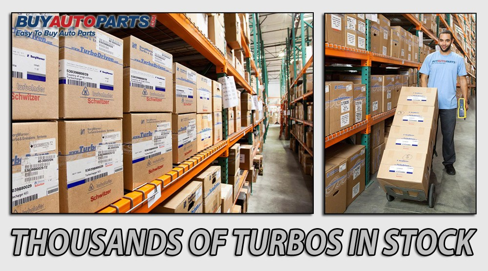 BorgWarner, Garrett, Holsett, IHI, AirWerks, Turbochargers in Stock