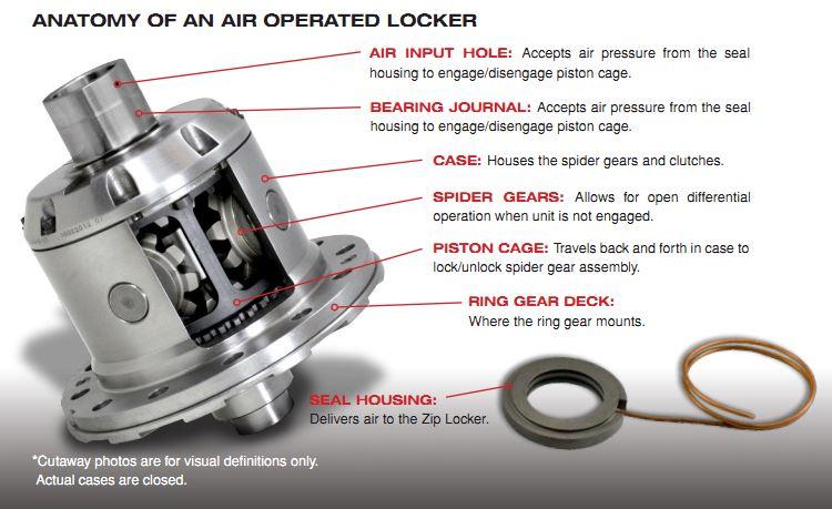 Zip Locker Anatomy