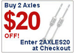 BuyAutoParts.com 2AXLES20 Deal