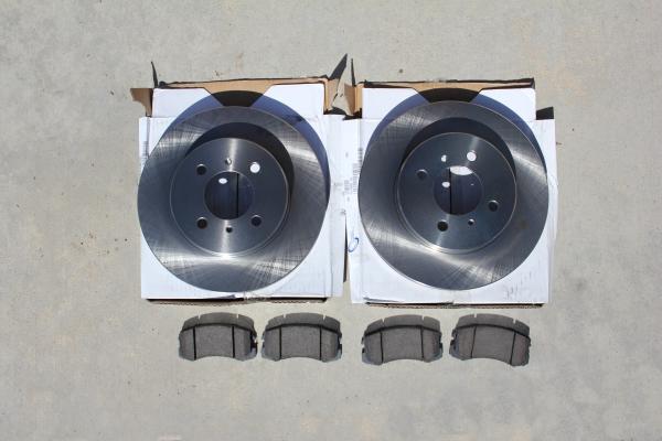 New Brakes and Rotors for 2004 Mitsubishi Lancer ES