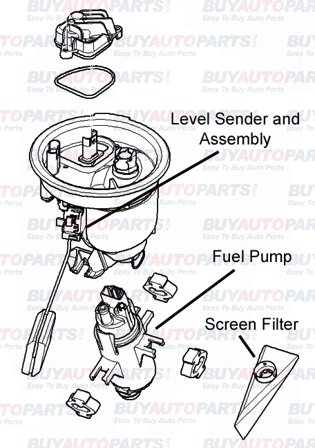 fuel pump assembly breakdown rh buyautoparts com evinrude fuel pump assembly diagram cav fuel pump parts diagram
