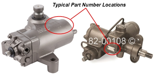 Where to find gearbox part numbers