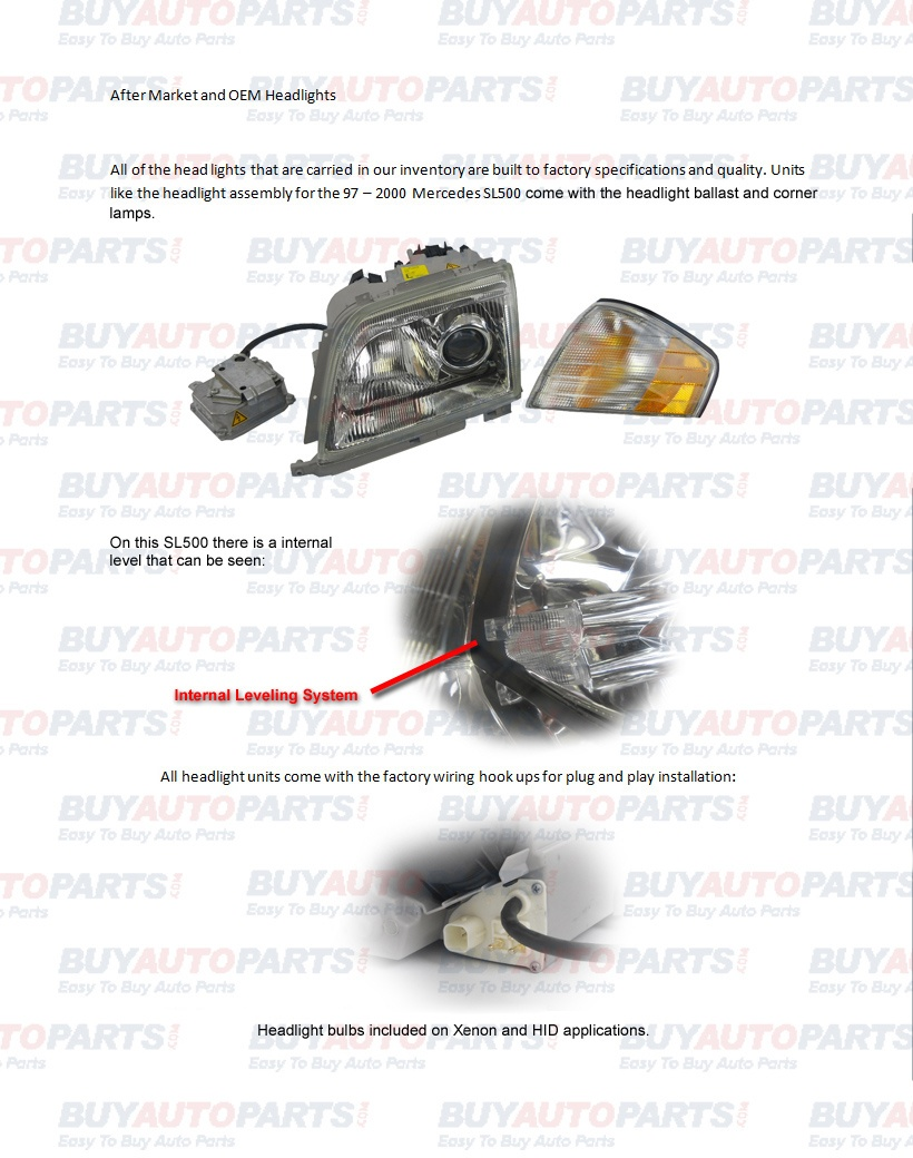 An Introduction To Headlight Layouts 1997 Ford F150 Front Suspension Diagram Autos Weblog