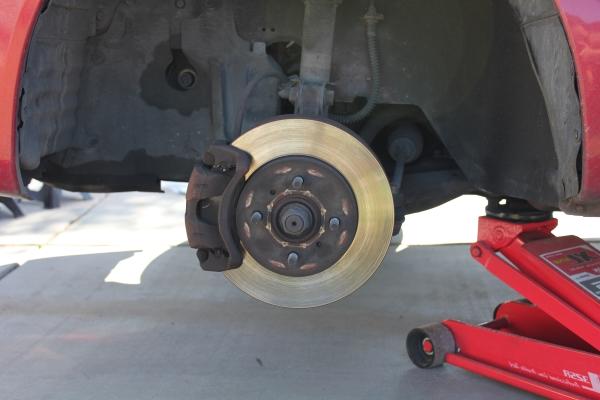 2004 Lancer ES Brakes and Rotor